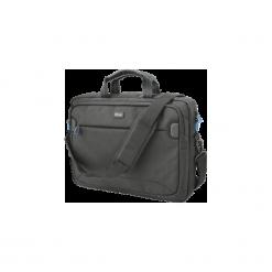 Torba na laptopa Trust MarrCarry 16''. Brązowe torby na laptopa marki TRUST, w paski, z materiału. Za 139,99 zł.