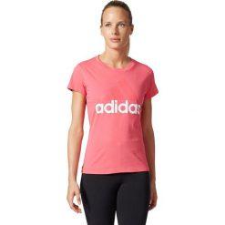 Adidas Koszulka damska ESS LI SLI Tee  różowa r. XS (BP5419). Białe topy sportowe damskie marki Adidas, m. Za 63,24 zł.