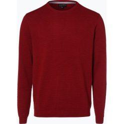 Swetry męskie: Nils Sundström – Sweter męski, czerwony