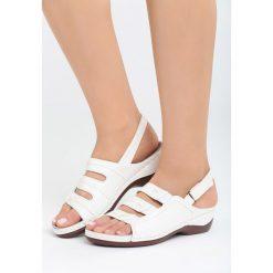 Sandały damskie: Białe Sandały Nightcall