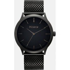 Zegarek damski. Czarne zegarki damskie Kazar, metalowe. Za 499,00 zł.