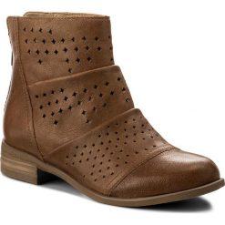 Botki LASOCKI - 70409-10 Camel. Brązowe buty zimowe damskie marki NEWFEEL, z gumy. W wyprzedaży za 199,99 zł.
