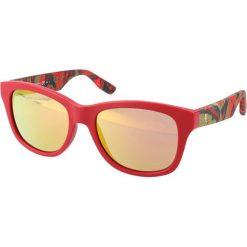 """Okulary przeciwsłoneczne męskie: Okulary przeciwsłoneczne """"0002/S XJS/UW"""" w kolorze czerwonym"""