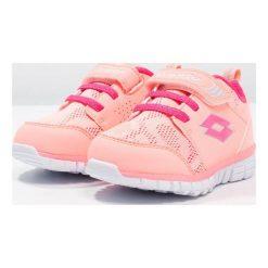 Lotto SPACERUN Obuwie do biegania treningowe rose neon/pink glam. Czerwone buty sportowe męskie Lotto, z materiału. Za 139,00 zł.