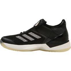 Buty do tenisu damskie: adidas Performance ADIZERO UBERSONIC 3 W CLAY Obuwie do tenisa Outdoor black/white