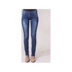 Jeansy slim fit Replay  ROSE. Niebieskie jeansy damskie marki Replay. Za 351,20 zł.