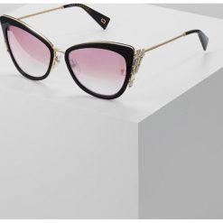 Marc Jacobs Okulary przeciwsłoneczne black. Czarne okulary przeciwsłoneczne damskie aviatory Marc Jacobs. W wyprzedaży za 1079,00 zł.