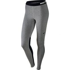 Spodnie dresowe damskie: Nike Spodnie damskie W NP WM Tight szaro-czarne r. S (803102 063)