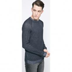 Jack & Jones - Sweter. Szare swetry klasyczne męskie Jack & Jones, l, z bawełny, z okrągłym kołnierzem. W wyprzedaży za 49,90 zł.