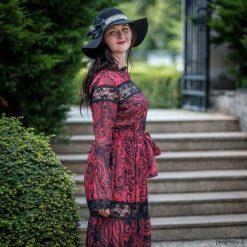 Hiszpański kapelusz. Czarne kapelusze damskie Pakamera. Za 360,00 zł.