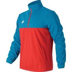Kurtka treningowa MT630143BDA. Czerwone kurtki sportowe męskie New Balance, na jesień, m, z materiału, do piłki nożnej. W wyprzedaży za 179,99 zł.