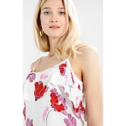 Bluzki asymetryczne: Bardot KENDRA FRILL Bluzka white