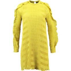 Sukienki hiszpanki: YAS YASDIANA  Sukienka letnia chinese yellow