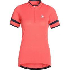 ODLO STANDUP COLLAR ZIP BREEZE    Tshirt z nadrukiem dubarry. Czerwone t-shirty damskie Odlo, m, z nadrukiem, z poliesteru. Za 209,00 zł.