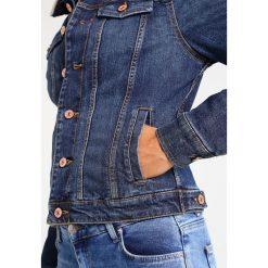 Bomberki damskie: H.I.S TRUCKER  Kurtka jeansowa premium dark blue wash