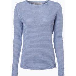 Apriori - Sweter damski z lnu, niebieski. Niebieskie swetry klasyczne damskie Apriori, m, ze lnu. Za 89,95 zł.