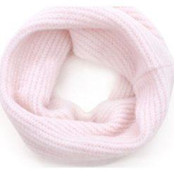 Szaliki damskie: Art of Polo Komin damski Zimowy puch różowy