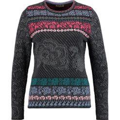 Swetry klasyczne damskie: Ivko INTARSIA PATTERN Sweter anthrazit