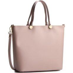 Torebka CREOLE - K10226 Jasny Fiolet. Fioletowe torebki klasyczne damskie Creole, ze skóry. W wyprzedaży za 249,00 zł.
