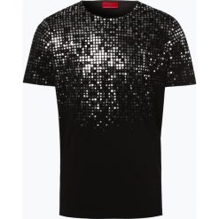T-shirty męskie: HUGO - T-shirt męski – Dilver, czarny