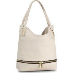 Torebka CREOLE - RBI10082 Jasny Beż. Brązowe torebki klasyczne damskie Creole, ze skóry. W wyprzedaży za 259,00 zł.