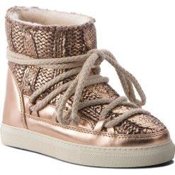 Buty INUIKII - Sneaker Galway 70202-8 Copper. Żółte buty zimowe damskie Inuikii, z materiału. Za 1179,00 zł.