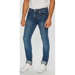 Levi's - Jeansy. Brązowe jeansy męskie skinny marki Levi's®. Za 369,90 zł.
