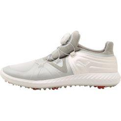 Puma Golf IGNITE TOUR DISC Obuwie do golfa gray violet/puma white. Szare buty do tenisu damskie Puma Golf, z materiału. W wyprzedaży za 353,40 zł.