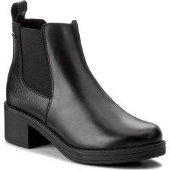 Sztyblety LASOCKI - EGIA-03L Czarny. Czarne buty zimowe damskie Lasocki, ze skóry, na obcasie. Za 229,99 zł.