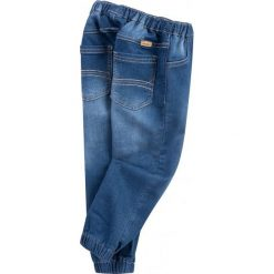 Spodnie niemowlęce: Jeansy ze ściągaczami dla małego chłopca