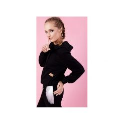 Bluzy damskie: BOKSERSKA BLUZA ALEX - CZARNA