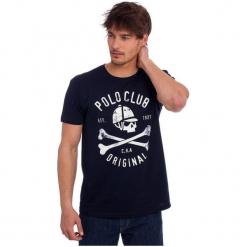 Polo Club C.H..A T-Shirt Męski L Ciemnoniebieski. Czarne koszulki polo marki Polo Club C.H..A, l. W wyprzedaży za 109,00 zł.