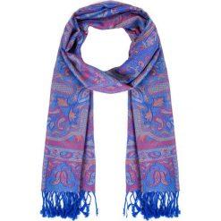 Granatowa apaszka z orientalnym wzorem QUIOSQUE. Niebieskie apaszki damskie QUIOSQUE, z bawełny. Za 69,99 zł.