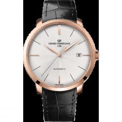 ZEGAREK GIRARD PERREGAUX 1966 AUTOMATIC 44 MM 49551-52-131-BB60. Szare zegarki męskie GIRARD-PERREGAUX, szklane. Za 84290,00 zł.