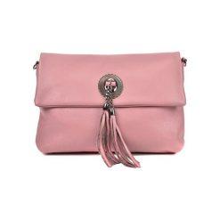 Torebka w kolorze jasnoróżowym - (S)32 x (W)24,4 x (G)11 cm. Czerwone torebki klasyczne damskie Bestsellers bags, w paski, z materiału. W wyprzedaży za 229,95 zł.