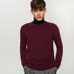 Swetry klasyczne męskie: Sweter – Brązowy
