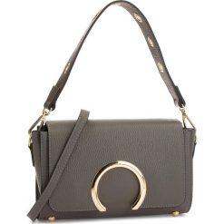 Torebka CREOLE - K10580  Szary. Szare torebki klasyczne damskie Creole, ze skóry. W wyprzedaży za 179,00 zł.