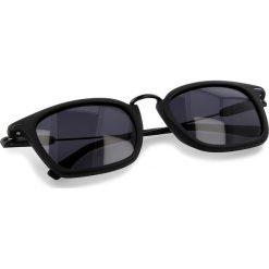 Okulary przeciwsłoneczne damskie aviatory: Okulary przeciwsłoneczne BOSS – 0325/S Matt Black 003