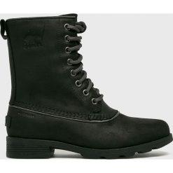 Sorel - Buty. Czarne buty trekkingowe damskie Sorel. W wyprzedaży za 599,90 zł.