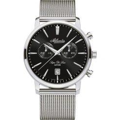 Zegarki męskie: Zegarek męski Atlantic Super De Luxe 64456-41-61