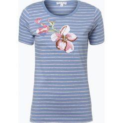 Marie Lund - T-shirt damski, niebieski. Niebieskie t-shirty damskie Marie Lund, s, z aplikacjami. Za 69,95 zł.