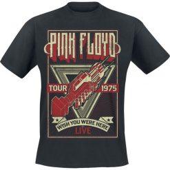 Pink Floyd Wish You Were Here Tour 1975 T-Shirt czarny. Czarne t-shirty męskie marki Pink Floyd, s. Za 74,90 zł.