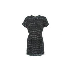 Sukienki krótkie Moony Mood  DOOMI. Czarne sukienki hiszpanki Moony Mood, l, z krótkim rękawem, mini. Za 103,20 zł.