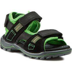 Sandały ECCO - Urban Safari Kids 73216252562  Black/Meadow. Czarne sandały męskie skórzane marki ecco. Za 299,90 zł.