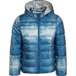 Kanz FOLLOW YOUR DREAMS ANORAK KAPUZE 1/1 ARM Kurtka zimowa blue denim/blue. Niebieskie kurtki dziewczęce przeciwdeszczowe Kanz, na zimę, z denimu. W wyprzedaży za 167,20 zł.