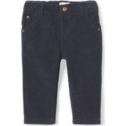 Spodnie niemowlęce: Welurowe spodnie 1 miesiąc – 3 latka
