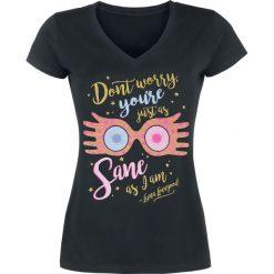 Bluzki asymetryczne: Harry Potter Don't Worry - Luna Lovegood Koszulka damska czarny