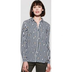 Koszula z wiskozy - Czarny. Czarne koszule damskie marki House, l, z wiskozy. Za 59,99 zł.