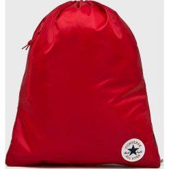 Converse - Plecak. Czerwone plecaki damskie marki Converse, z nylonu. Za 79,90 zł.