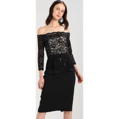 Swing Sukienka koktajlowa schwarz/gold. Czarne sukienki koktajlowe marki Swing, z materiału. W wyprzedaży za 431,40 zł.